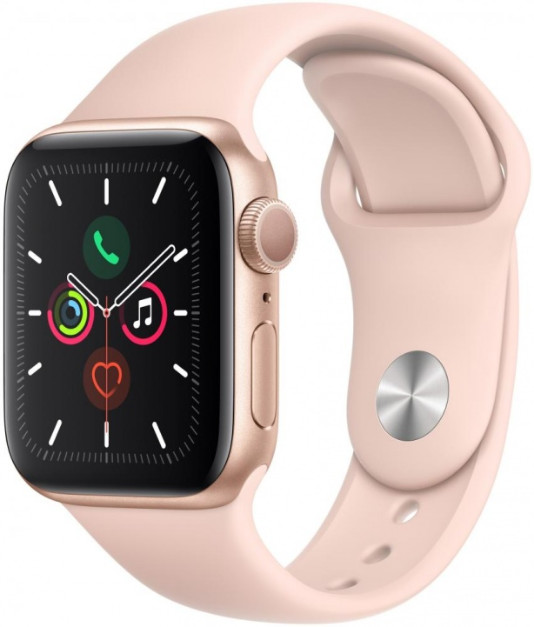 Умные часы Apple Watch Series 5 40mm MWV72 Gold/Pink
