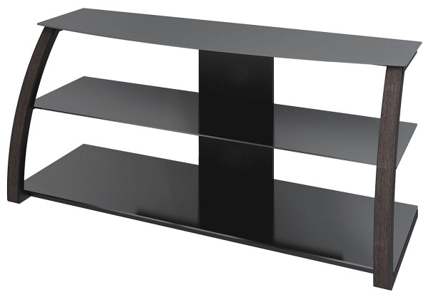 Тумба для ТВ Март Викинг черный/коричневый