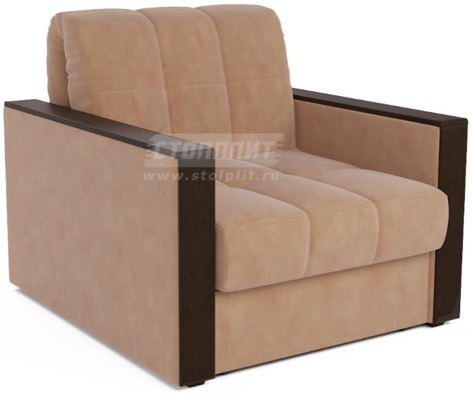 Кресло-кровать Столплит Даллас бежевый/Luna 061 105x88x83 см