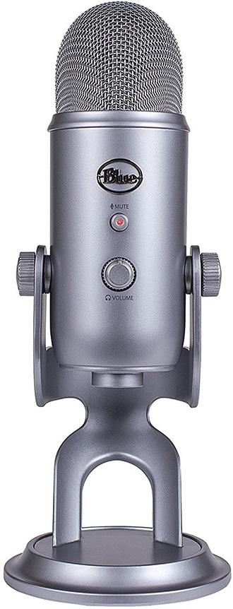 Микрофон Blue Yeti Cool Grey