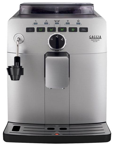Кофемашина Gaggia Naviglio Deluxe Silver
