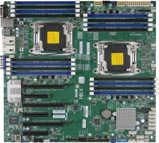 Материнская плата Supermicro X10DRI LGA 2011v3
