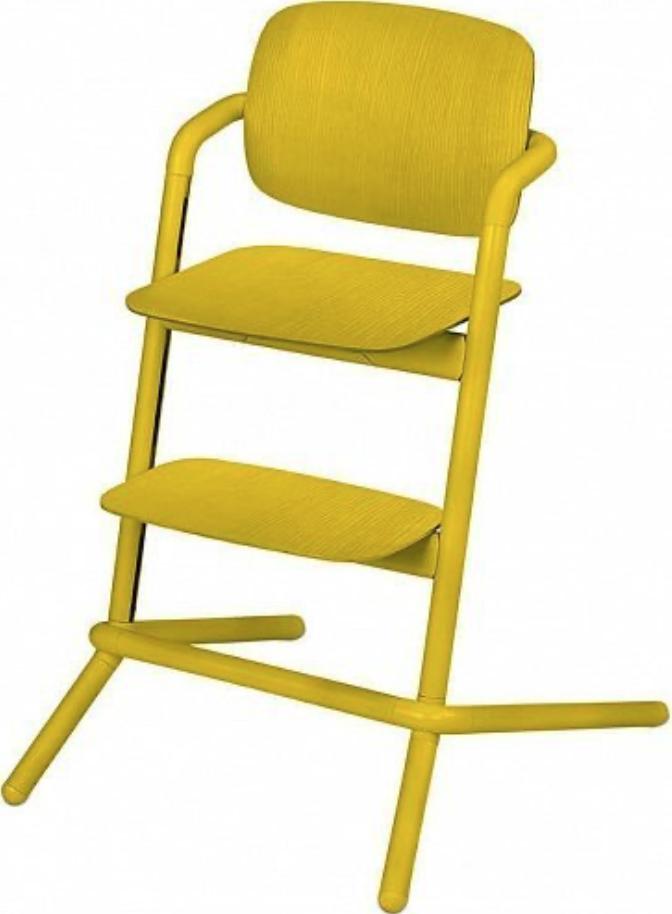Стульчик для кормления Cybex Lemo Wood 4в1 Canary Yellow