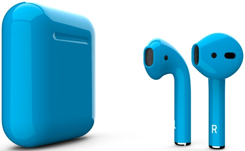 Наушники Apple AirPods 2 2019 Gloss Blu…