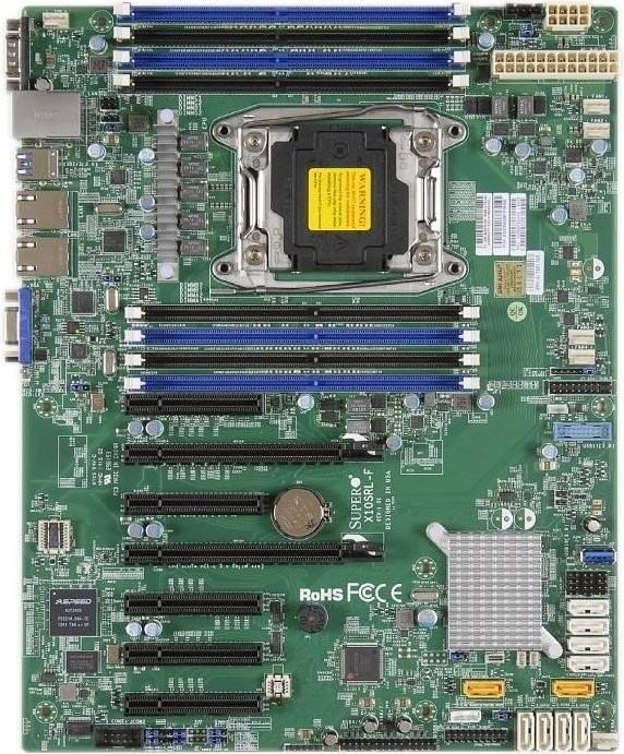 Материнская плата Supermicro X10SRL-F LGA 2011v3