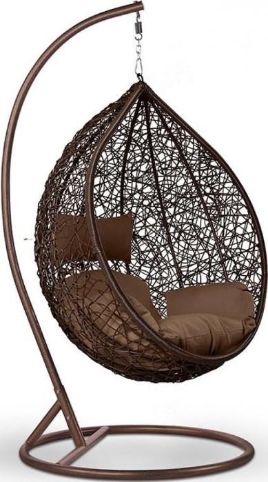 Кресло Афина-Мебель AFM-168A-XL коричне…