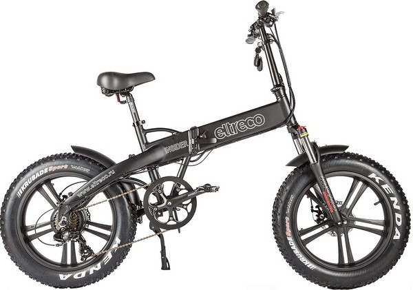 """Велосипед Eltreco Insider Black 20"""""""