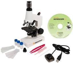 Микроскоп Celestron 40x-600x цифровой