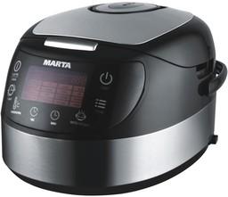 Marta MT-1986 черный/сталь