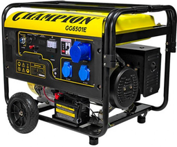 Электрогенератор Champion GG6501E+ATS