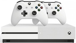 Microsoft Xbox One S 1Tb White + GOW4...