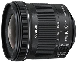 Canon EF-S 10-18mm f/4.5-5.6 IS...