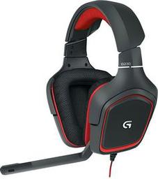 Logitech G231 Prodigy Black/Red...