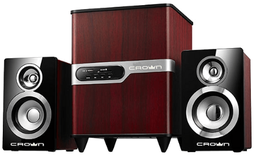 Музыкальный центр Crown CMS-440 Wood 2.1
