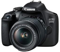 Фотоаппарат Canon EOS 2000D Kit...