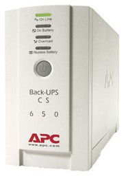 APC Back-UPS CS 650VA White