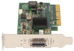 HP InfiniBand 4X DDR PCI-E Single Por...