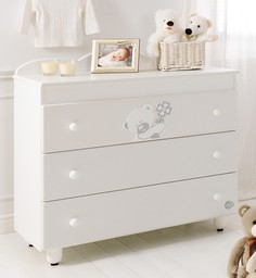 Baby Expert Serenata белый (с 3 ящиками)