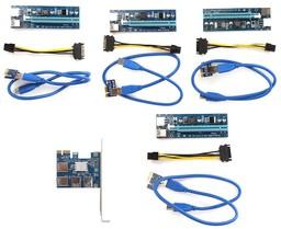 Espada PCI-E 1x to 4*PCI-E 16x Riser ...