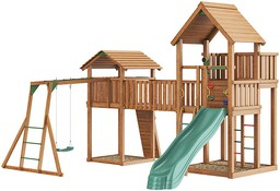 Jungle Gym Palace + Bridge Link + Cot...