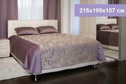 Двуспальная кровать Цвет Диванов Барр...