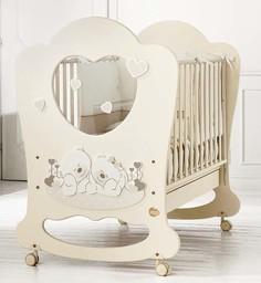 Кроватка Baby Expert Sogno кремовый