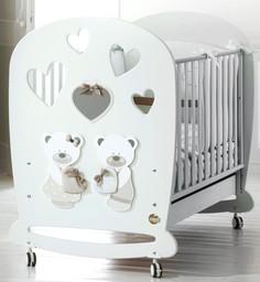 Кроватка Baby Expert Bon Bon белый/се...