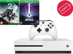 Microsoft Xbox One S 500Gb White + Ag...