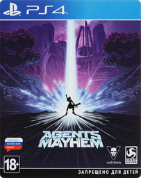 Agents of Mayhem Steelbook Edition PS...