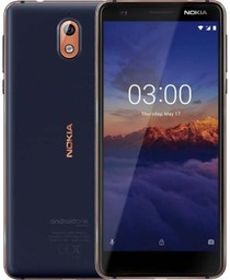 Смартфон Nokia 3.1 LTE 2Gb 16Gb Blue