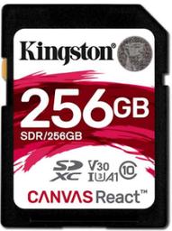 Kingston Canvas React SDXC 256Gb Clas...