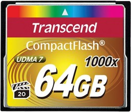 Карта памяти Transcend Compact Flash ...