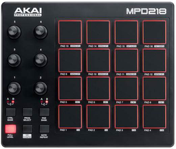 Dj-контроллер Akai Pro MPD218