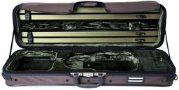 Gewa Strato Case De Luxe Dark Brown 4/4