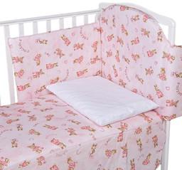 Постельное белье Italbaby Bunny розовый