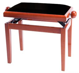 GEWA FX Piano Bench Cherry Matt Black...