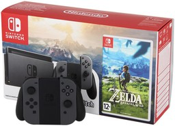 Nintendo Switch Grey + The Legend of ...