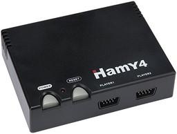 Sega-Dendy Hamy 4 350-in-1 Classic Black