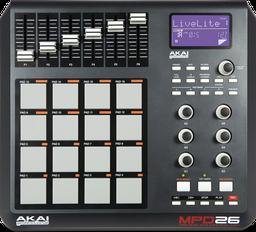 Dj-контроллер Akai Pro MPD26