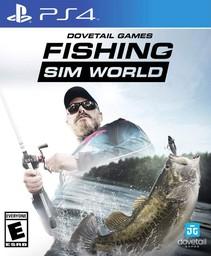 Fishing Sim World PS4 английская версия