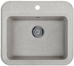 Кухонная мойка Whinstone Галлон 1В серый