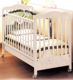 Кроватка Baby Expert Coccolo беленый