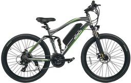 """Велосипед Eltreco FS-900 Black/Green 26"""""""