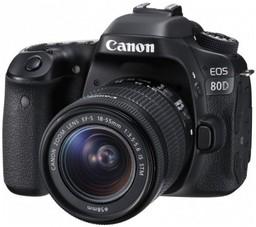 Фотоаппарат Canon EOS 80D Kit EF-S 18...