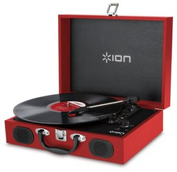 ION Audio Vinyl Transport Red