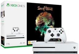Microsoft Xbox One S 1Tb White + Sea ...