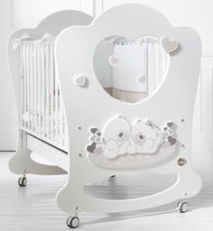 Кроватка Baby Expert Sogno белы...