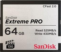 SanDisk  Extreme Pro CFast 2.0 64Gb