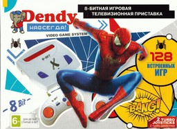 Dendy Spider-Man TY-101 128-in-1 8Bit...