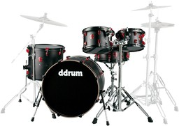 Ddrum Hybrid 5 Player Satin Bla...